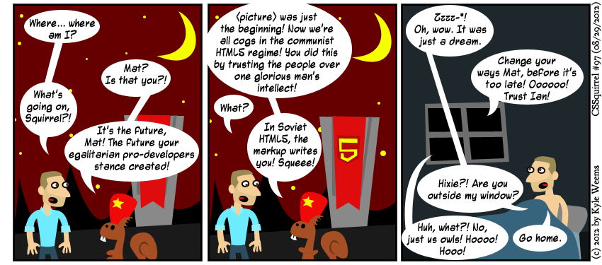 CSSquirrel #97: In Soviet HTML...